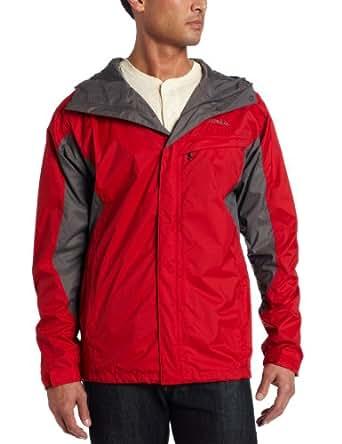 Columbia Men's Watertight Rain Jacket X-Small Red/Charcoal