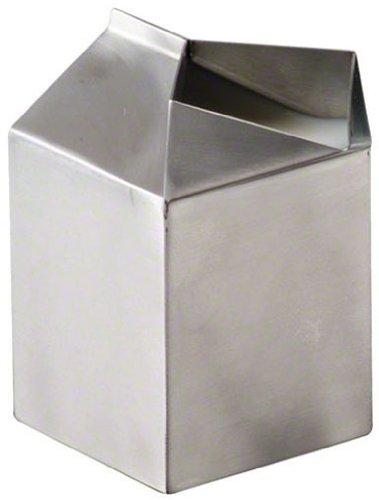 American Metalcraft MCC500 Stainless Steel Milk Carton Creamer Dispenser, Silver, 5-Ounce
