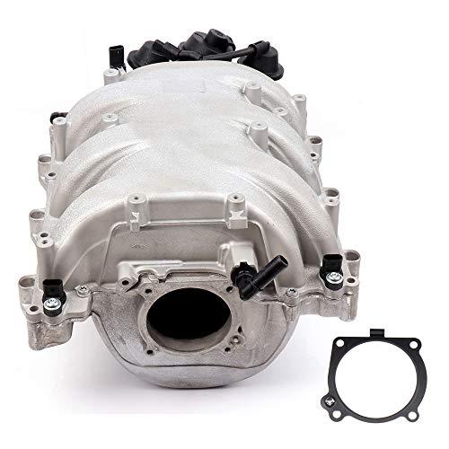cciyu Intake Manifold with Thermostat Gaskets O-Ring Screws Brackets Fit 2006-2007 Mercedes-Benz C230 C280 2006-2011 Mercedes-Benz C350 ML350 R350 2009-2011 Mercedes-Benz SLK300