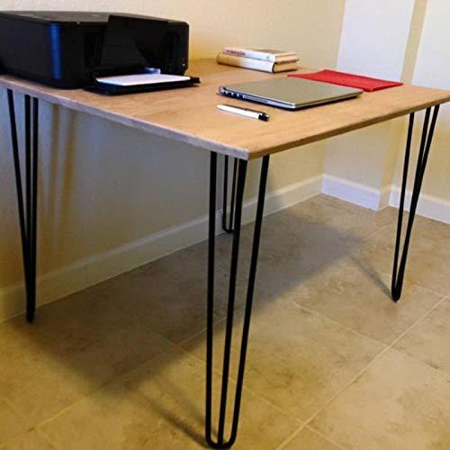 CARPETE Hair pin Legs 24'' - Modern Metal Furniture Table Legs-Matte Black - 1/2'' Steel Solid Rod - Set of 4 - Metal Tool Legs by CARPETE (Image #7)