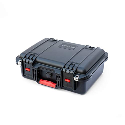 ドローン収納ケース 全面保護型 防塵 耐衝撃 大容量 持ち運びに便利 IP67防水ハードケース EVAハードケース 58×39×21cm DJI Mavic 2 Zoom/Pro用ケース B07NWHS696