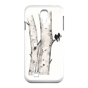 Cell phone case Of Watercolor Bumper Plastic Hard Case For Samsung Galaxy S4 i9500