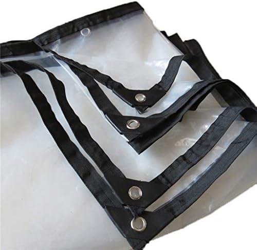 透明防水シート 多目的 トランスペアレント ターポリン キャンプグラウンドシート 耐候性UVシェルター耐性 ポリエチレン アースカバー 絶縁布 アルミアイレット ターポリン 庭屋根 保護