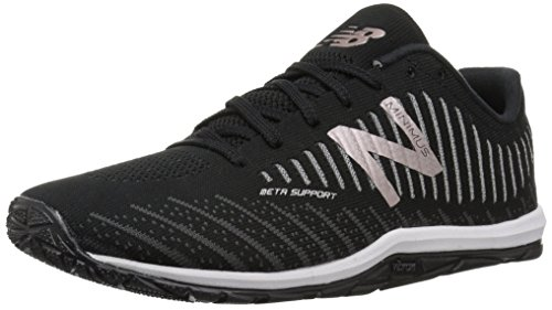 New Balance Women's WX20BP7 Minimus Training Shoe, Black, 9 B US