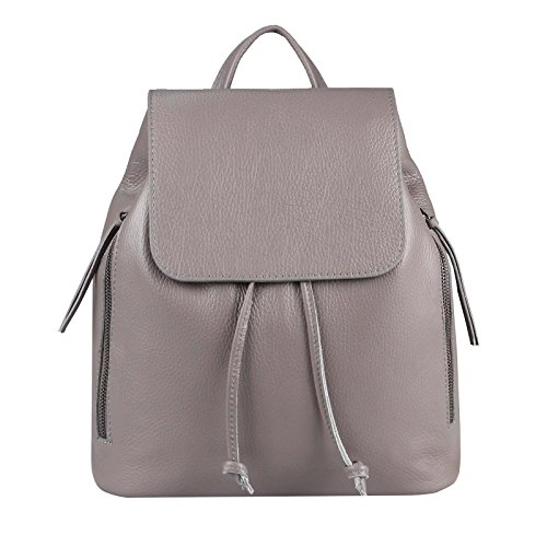 OBC Only-Beautiful-Couture - Bolso mochila para mujer Gris Dunkeltaupe ca.: 35x30x12 cm (BxHxT) Dunkeltaupe