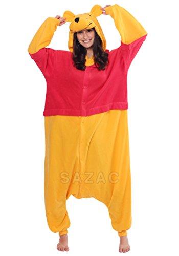sazac Kigurumi Pijama Disfraz Winnie the Pooh