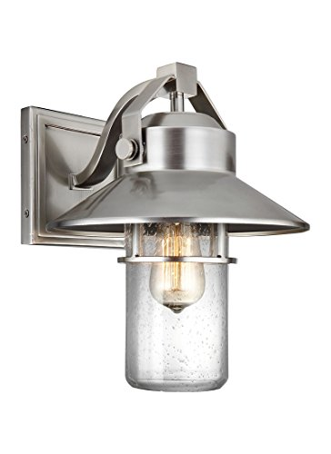 Feiss OL13901PBS One Light Outdoor Wall Lantern by Feiss