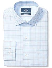 Men's Classic Fit Check Non-Iron Dress Shirt