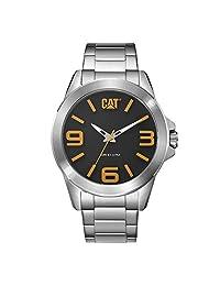 Caterpillar YT14111137 Reloj para Hombre, Silver