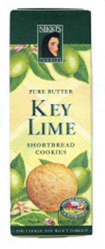 Key Lime Shortbread Cookies