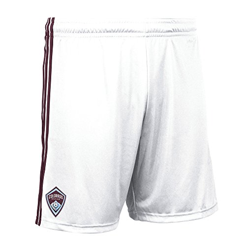 MLS Colorado Rapids Men's Replica Shorts, Medium, White