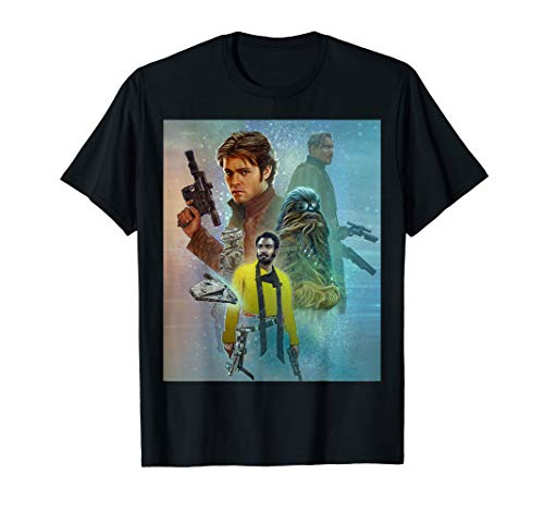 - Star Wars Celebration Mural Solo A Star Wars Story T-Shirt