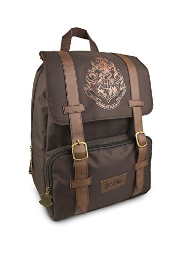 - Official Harry Potter Hogwarts Logo Flapover Laptop Backpack School Bag