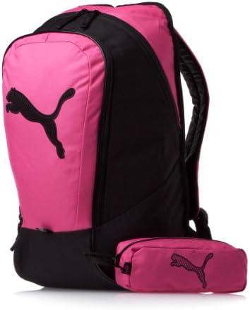 Puma - Mochila y estuche, color rosa y negro: Amazon.es: Deportes y aire libre