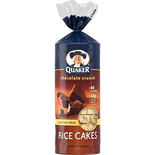 Quaker Rice Cakes, Chocolate Crunch, 7.23 Ounce