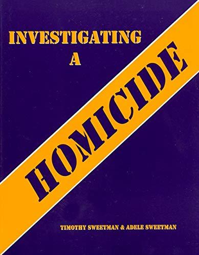 Investigating a Homicide Workbook