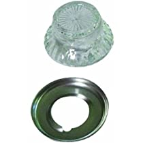 Tops Replacement Percolator Top Fits Opening From 1-1/2 - 2-1/2 Dia. Clear,Glass