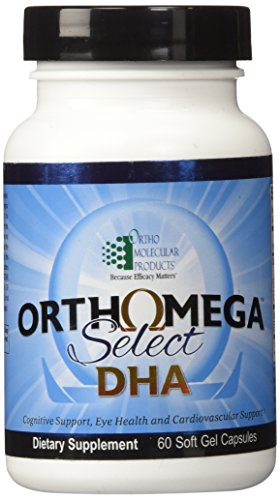 Ortho Molecular   Orthomega Select Dha  60 Soft Gel Capsules