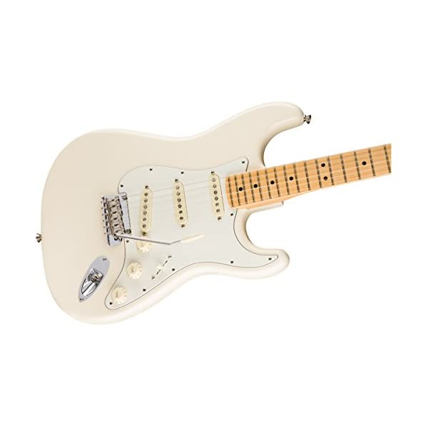 American Professional Stratocaster MN Olympic White