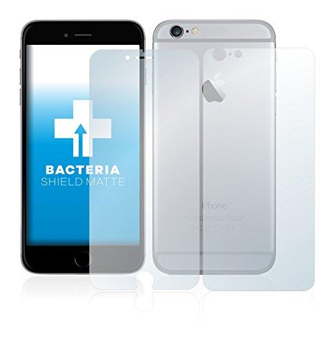 upscreen Bacteria Shield Matte Pellicola Protettiva Opaca per Apple iPhone 6S Plus (Anteriore + Posteriore) Proteggi Schermo Antibatterica, Antiriflesso