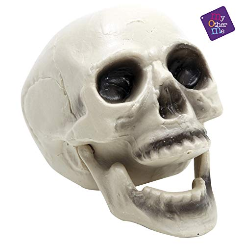 Viving Costumes 200316 Skull with Movable Jaw, 20 x 16 cm, Multi Color