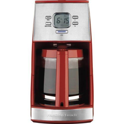 【テレビで話題】 ハミルトンビーチEnsemble 12 12 - Cup Coffeemaker B007G948YW withガラスカラフェ,レッド Coffeemaker B007G948YW, クマトリチョウ:7ac763c9 --- mfphoto.ie