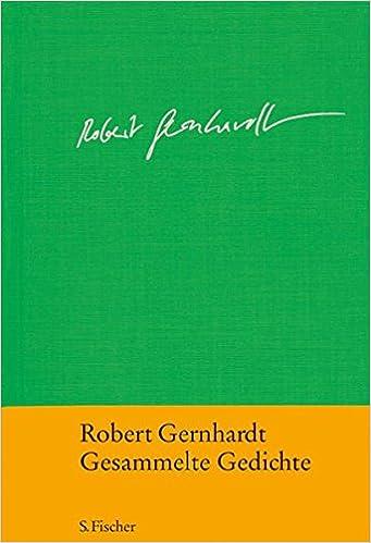 Gernhardt gedicht buch