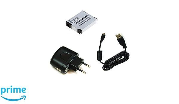 Cable USB para Panasonic Lumix dmc-tz56 cable de datos cable data