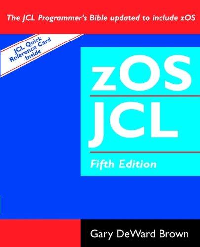 zOS JCL (Job Control Language): Contemporary Australian Essays