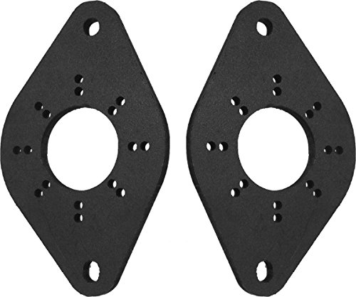 - Speaker Adapters For Tweeters Fits Lexus, Subaru, And Toyota - 1.25