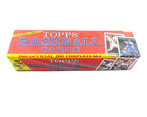 1988 Topps Baseball Cards Factory Sealed Set Pricepirates Price
