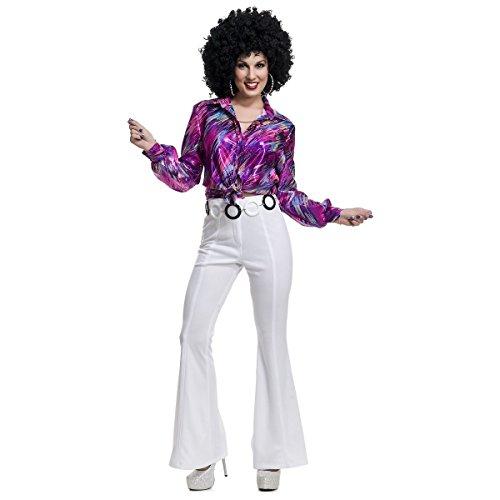 Creepy Nightgown Costume (Womens Disco Pants Costume - X-Small - Dress Size 3-5)