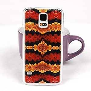LIMME Beautiful Snake Pattern PC Back Case for Samsung S5/I9600