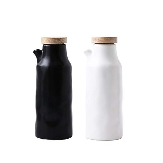 Danmu Art - Juego de 2 botellas de vinagre de aceite de oliva de ...