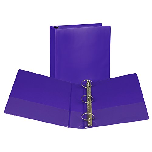 Samsill Fashion Color Durable 3 Ring View Binders, 2 Inch