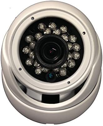 1000TVL Security Dome Camera 1 3 Sony 1.4 Megapixel CMOS 12VDC 3.6mm Varifocal 24pcs IR w 65 ft OSD Menu WDRWide Dymanic Range Weather Vandal Proof Metal View Indoor Outdoor DayNight HomeOffice