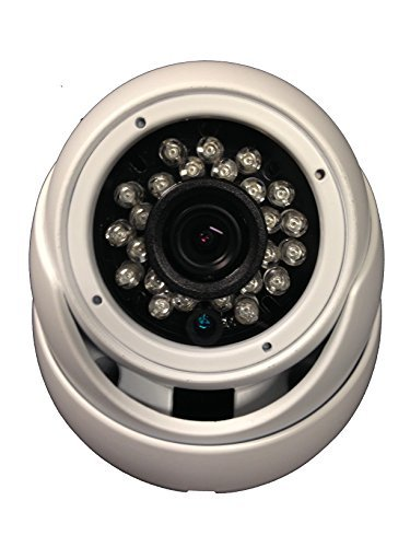 1000TVL Security Dome Camera 1/3″ Sony 1.4 Megapixel CMOS 12VDC 3.6mm Varifocal 24pcs IR w/65 ft OSD Menu WDRWide Dymanic Range Weather/Vandal Proof Metal View Indoor/Outdoor DayNight HomeOffice For Sale
