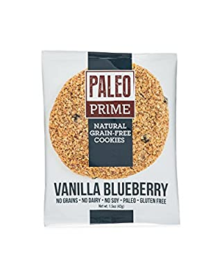 Paleo Prime Vanilla Blueberry Cookie 12 count
