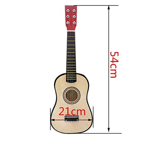 "Blueseason Kids Guitar New Mini 23"" Beginners Student Children Classical Acoustic Guitar, Black - Image 2"