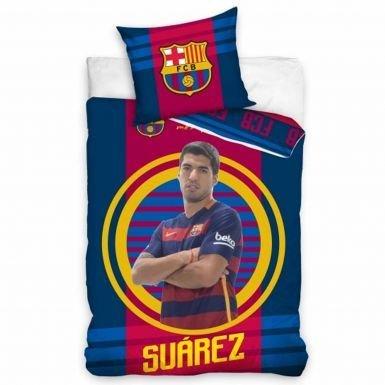 Luis Suarez et FC Barcelone Player Housse de Couette Barcelona
