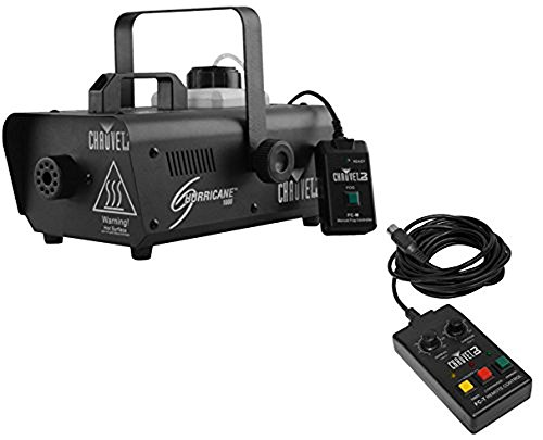 Fog Machine Timer Control (Chauvet DJ Hurricane 1000 Fog Smoke Machine w/ Wired & Wireless Remotes |)