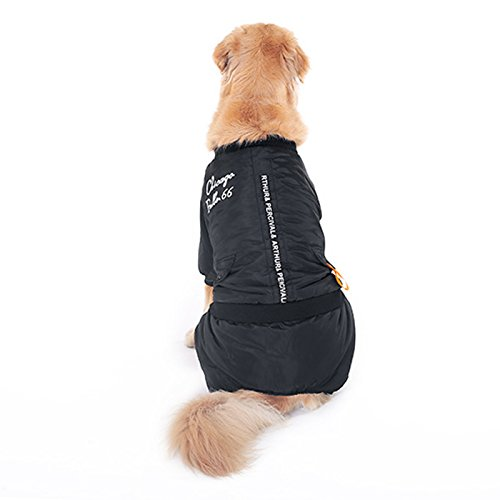 Alfie Pet by Petoga Couture - Christo Windy Days Jumper (for Dogs and Cats) - Color Black, Size: 5XL
