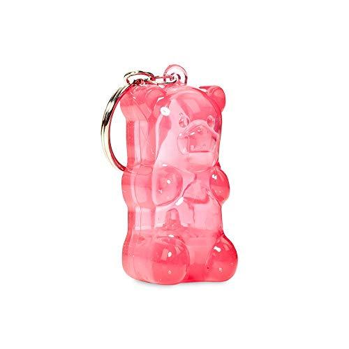 GummyGoods Pink Gummy Bear Light-Up Keychain]()