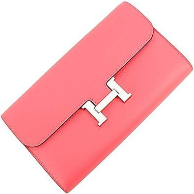 27acf35f5d26 Amazon | [エルメス] コンスタンスロング 二つ折り長財布 オーガナイザー クラッチバッグ ピンク 人気 プレゼント [並行輸入品] |  HERMES(エルメス) | 財布