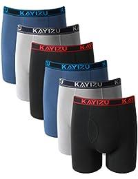 Brand Men's Underwear,Ultimate Soft Cotton Boxer Brief (6-Pack)