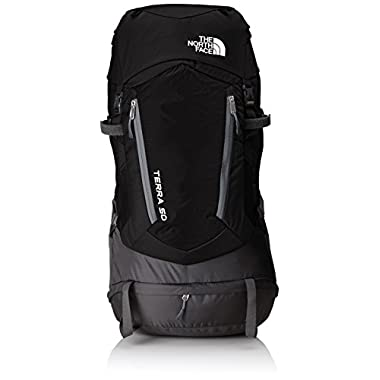The North Face Terra 50 hiking backpack (TNF Black/Asphalt Grey, Large/X-Large)