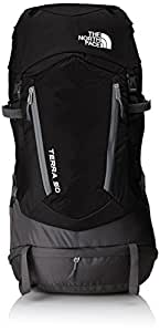 The North Face Terra 50 Mochila, Black/Asphalt Grey, L/XL