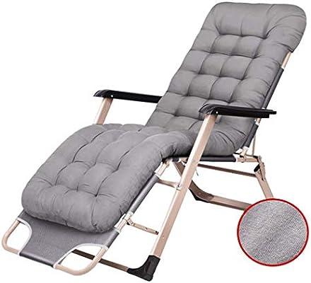 Sillón reclinable Sillas de cubierta al aire libre Tumbona ...