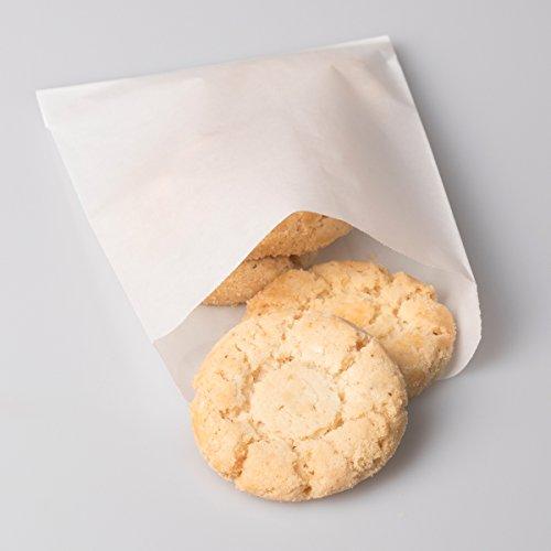 BagDream Glassine Waxed Paper Bags 4.72