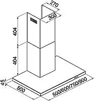 Klarstein 90BS5 campana extractora (820m³/h máxima potencia, iluminación halógena opcional, bajo nivel de ruido, 4 niveles regulables, acero inoxidable, filtros reemplazables): Amazon.es: Grandes electrodomésticos